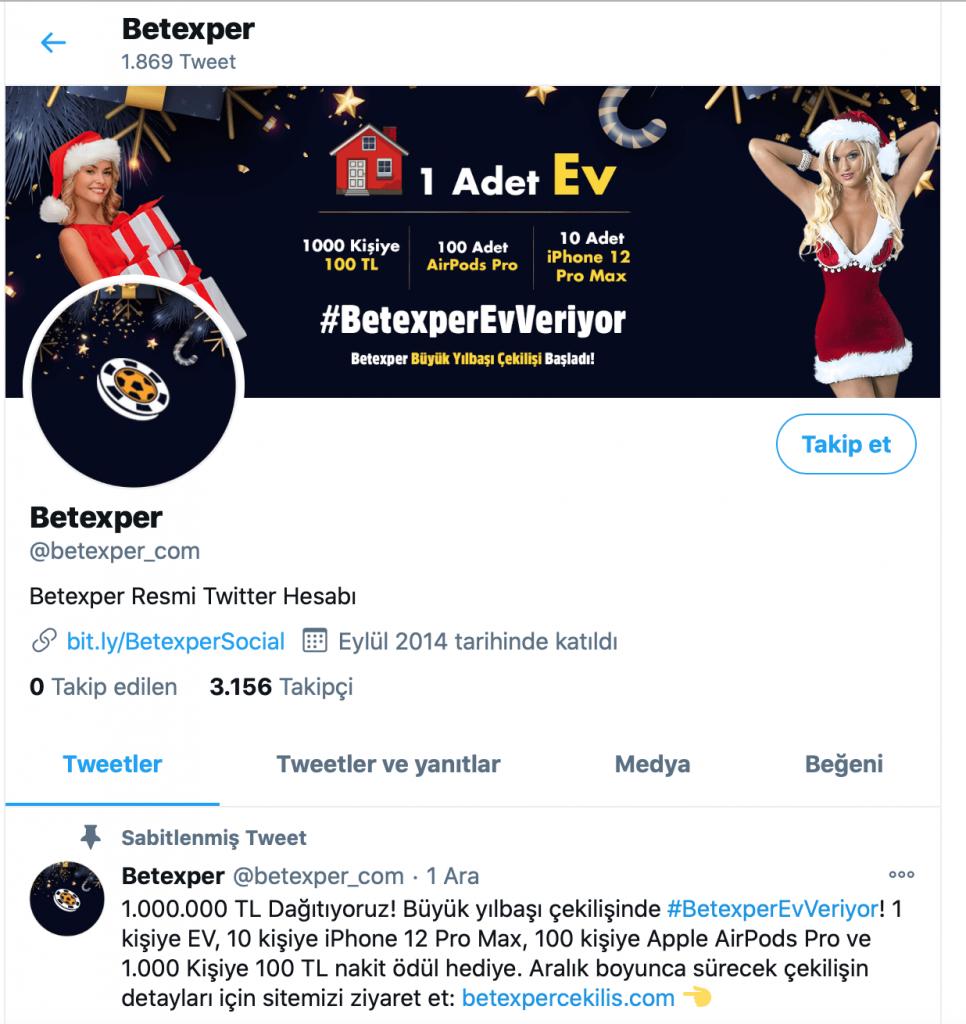 betexper twitter adresi
